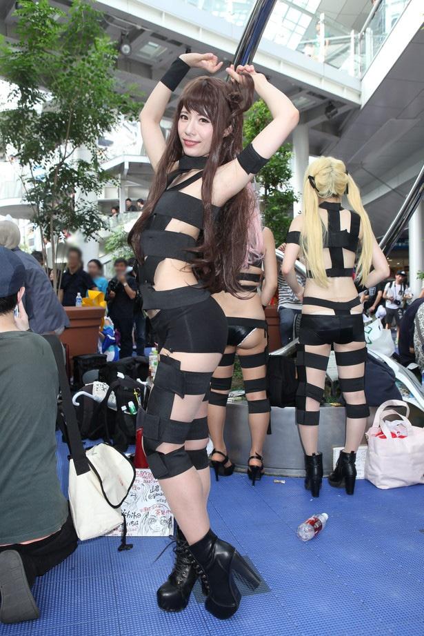 「アイドルマスター シンデレラガールズ」の嶋村卯月に扮した天津いちはさん