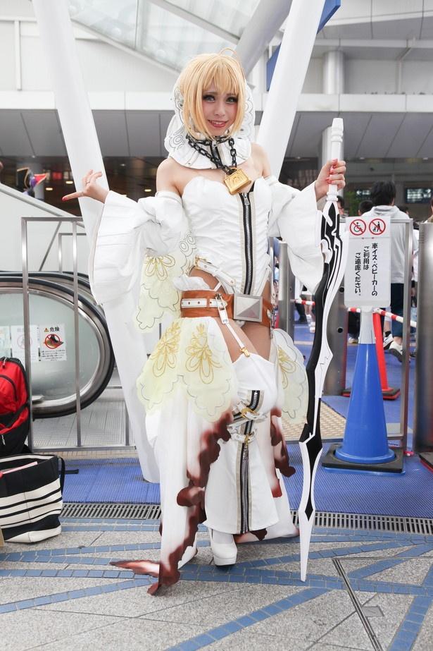 「Fate/Grand Order」のネロ.ブライトに扮したJunna.さん