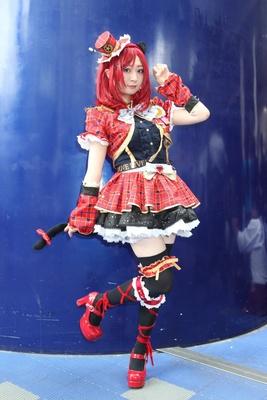 「ラブライブ!」の西木野真姫に扮した悠希さん
