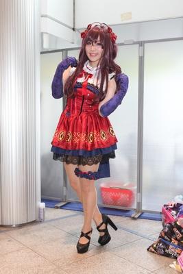 「アイドルマスターシンデレラガールズ」の一ノ瀬志希に扮したあやかさん