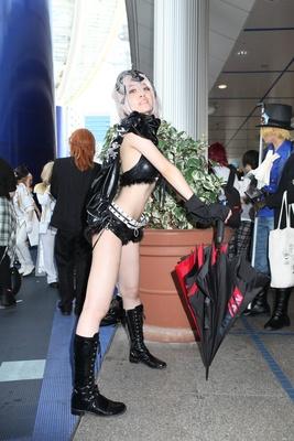 「Fate/Grand Order」のジャンヌダルク・オルタ(RQ Ver.)に扮したみるいさん