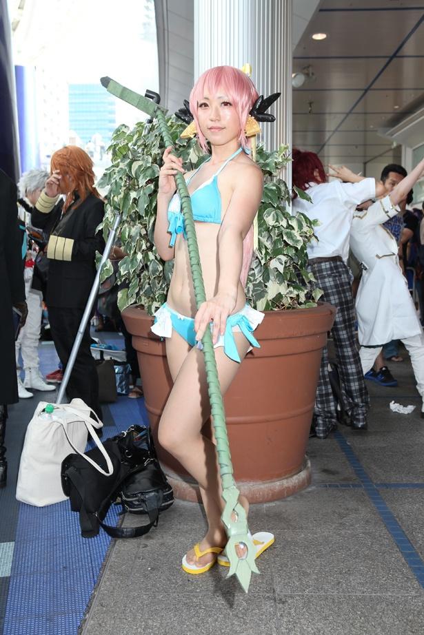 「Fate/Grand Order」の清姫に扮したkibosiさん