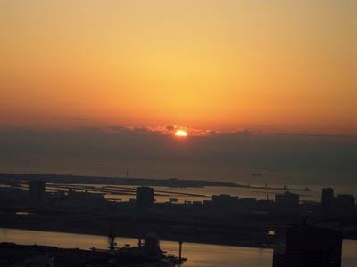 2010年の初日の出、どこで見る?※写真は東京タワーからの初日の出