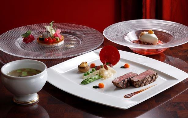 シェラトン都ホテル大阪「徳川慶喜がもてなしたフランス料理」