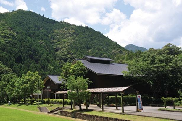 十津川村の山々に囲まれた温泉宿/十津川温泉ホテル昴