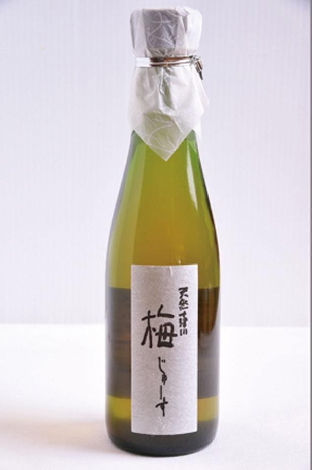 十津川村の梅を使った「梅じゅーす」(670円)。水や炭酸水で4~5倍に薄めて飲もう/道の駅 十津川郷
