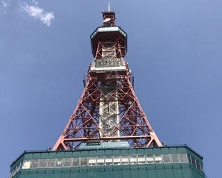 テレビ塔の3階「スカイラウンジ」に店舗を構える「スーベニアショップ」