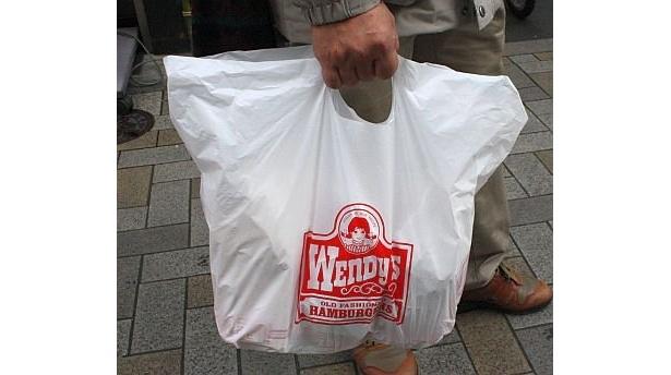この袋を見掛けることももうない…
