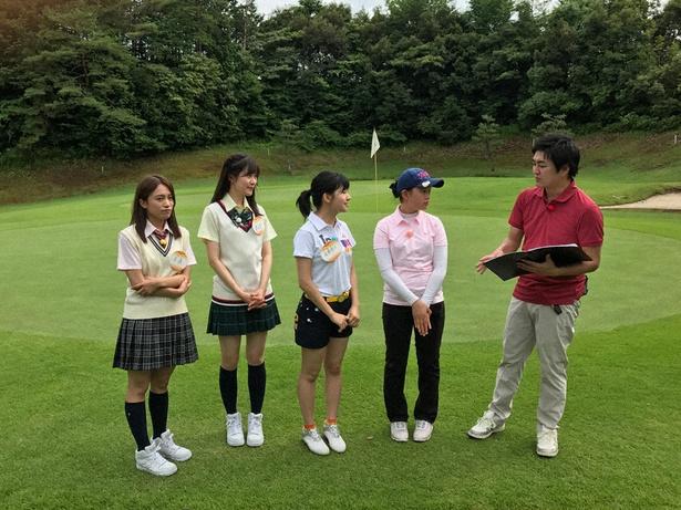 「SKE48 むすびのイチバン!」で斉藤真木子、高木由麻奈、後藤楽々がロケへ(写真左から)