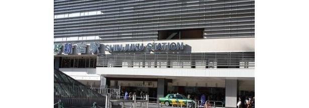「ルミネエスト新宿」前の風景