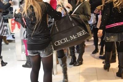 「CECIL McBEE」の福袋!ボストンバッグなどに詰めるスタイルは同店が先駆けとか