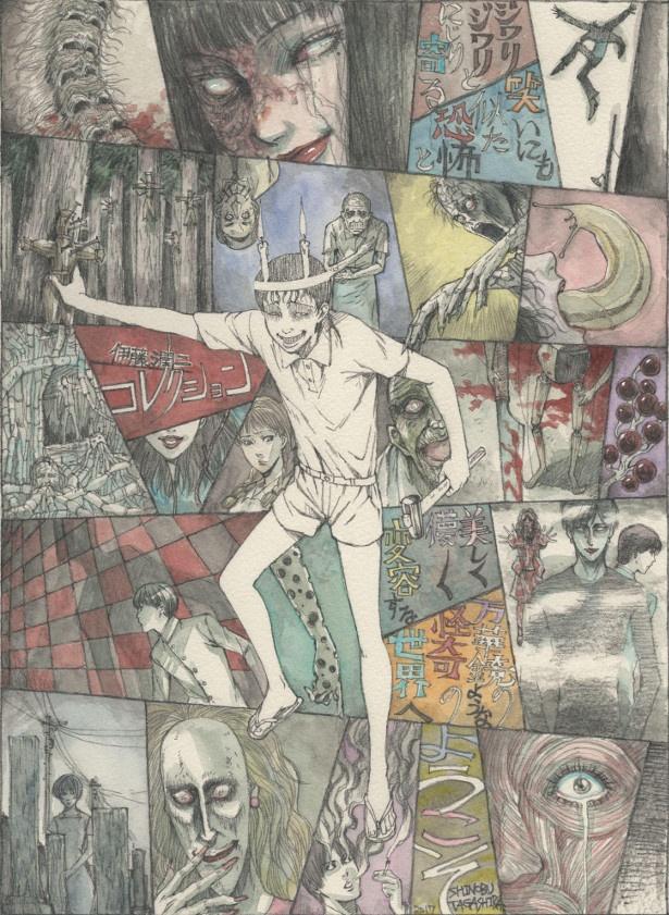 人気ホラー漫画「伊藤潤二傑作集」を原作とするテレビアニメの放送が2018年冬に決定!
