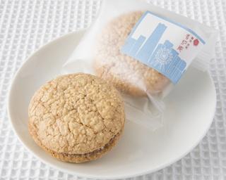 2Fは茶寮で、1Fの和菓子をお茶と一緒に食べられる