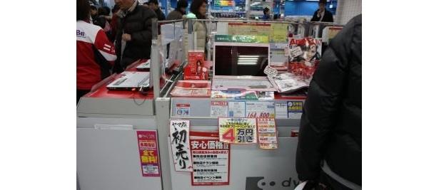 「ヤマダ電機 LABI1 日本総本店」の店内!特価製品が並ぶ