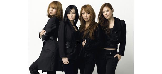 デビュー時のオリジナルメンバー!左から、Lina、Mina、Reina、Nana