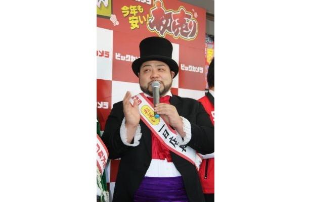 体重が130kgに!山田ルイ53世