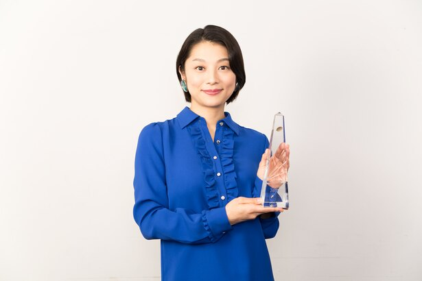 最優秀助演女優賞に輝いた小池栄子