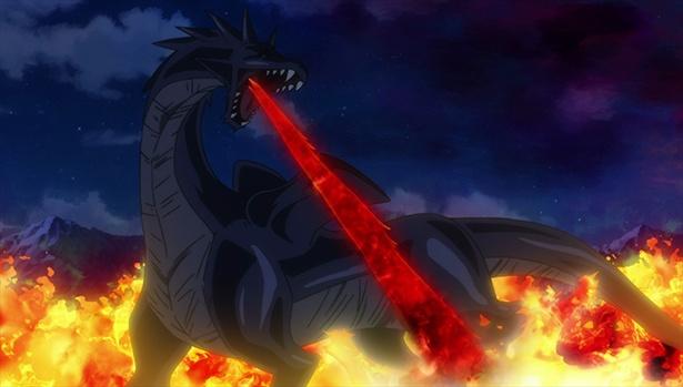 「異世界はスマートフォンとともに。」第6話先行カットが到着。冬夜、異世界の王道ドラゴンと戦う!