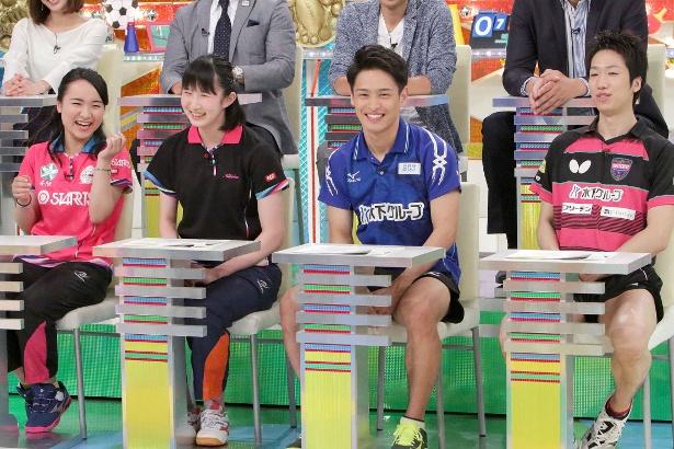 伊藤美誠選手、早田ひな選手、水谷隼選手、大島祐哉選手がスクープを発表!