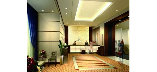 「ロッテシティホテル 錦糸町」フロント