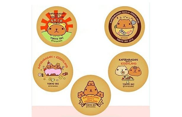 超かわいい!東京駅限定のカピバラさんクッキーはこんな感じ!(550円)