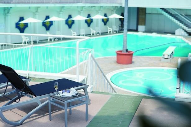 ホテルニューオータニの「ガーデンプール」