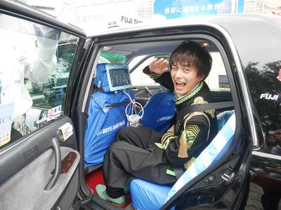 「みんなぜひ乗って欲しい!」とアピールする小林豊