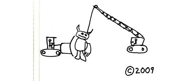 これが、スパイク・ジョーンズ監督直筆のイラスト