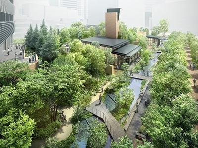 「赤坂インターシティAIR」外観イメージ