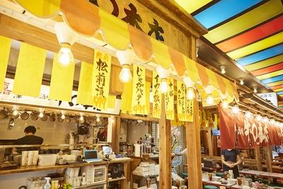 上野の朝飲み文化を受け継ぐ「上野産直飲食街」