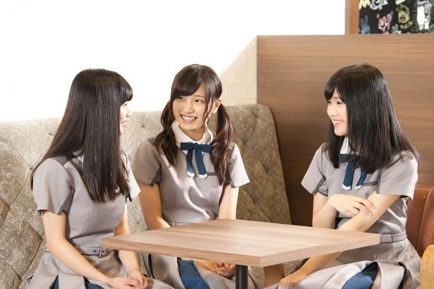 22/7メンバー短期インタビュー連載第1回/西條和×花川芽衣×宮瀬玲奈