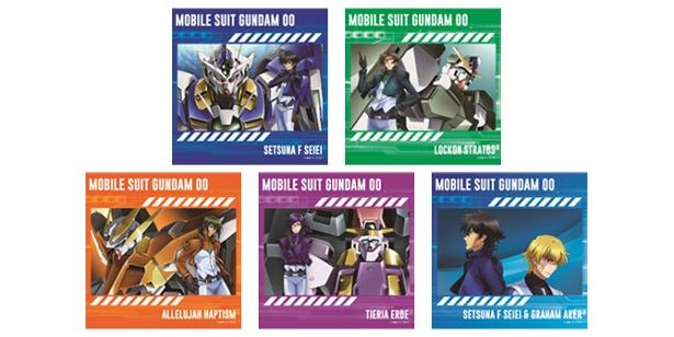 ニュータイプ×ANIME TSUTAYAフェア第1弾「機動戦士ガンダム00」オリジナルグッズ先行販売