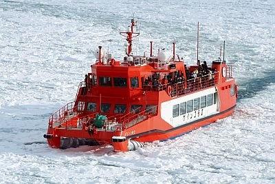 【豪快に氷を砕く砕氷船がかっこいい!ほか、画像15点】