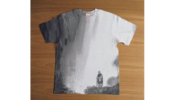 """""""墨Tシャツ""""(胤栄)各5800円"""