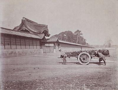 内田九一が撮影した「西京御所建春門」