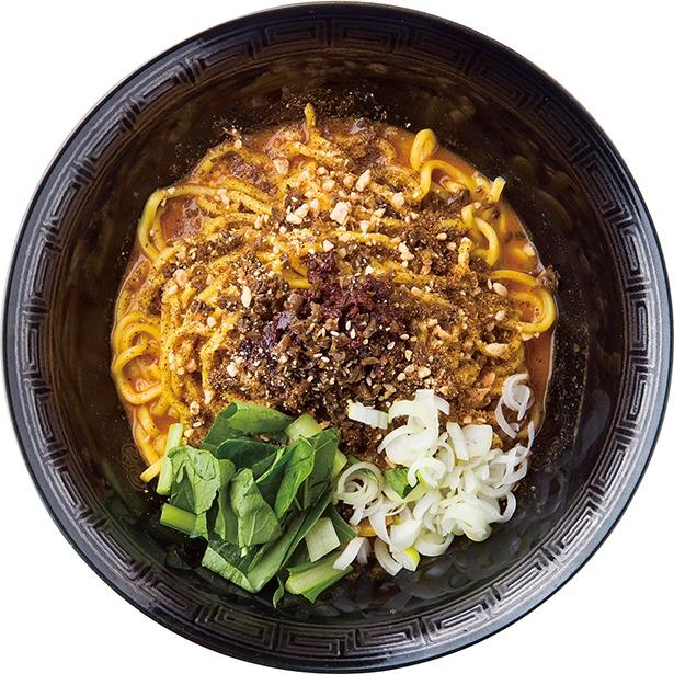 【写真を見る】本場四川産の花椒の香り立つ「麺屋 きら」の「汁なし坦々麺」(880円)