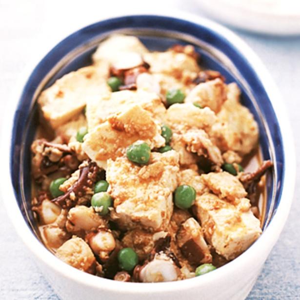 【関連レシピ】やわらか仕上げのたこの食感がグッド!「たこの麻婆豆腐」