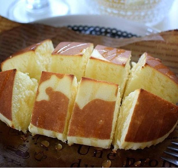 「カリカリチーズ蒸しパン」