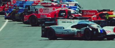 WEC FIA 世界耐久選手権 2017年 第3戦 ル・マン24時間レースの車が並ぶ