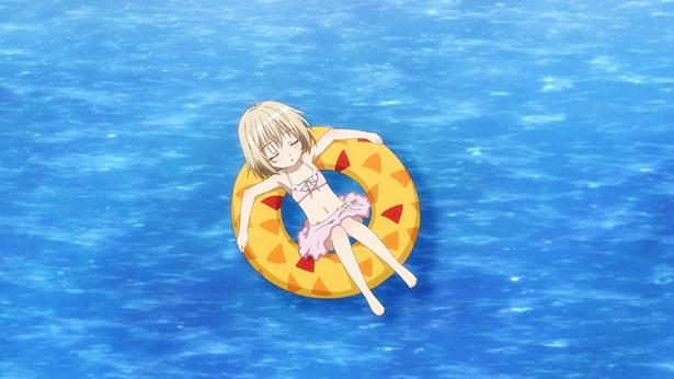 「天使の3P!」第7話先行カットが到着。南の島で水着を披露!
