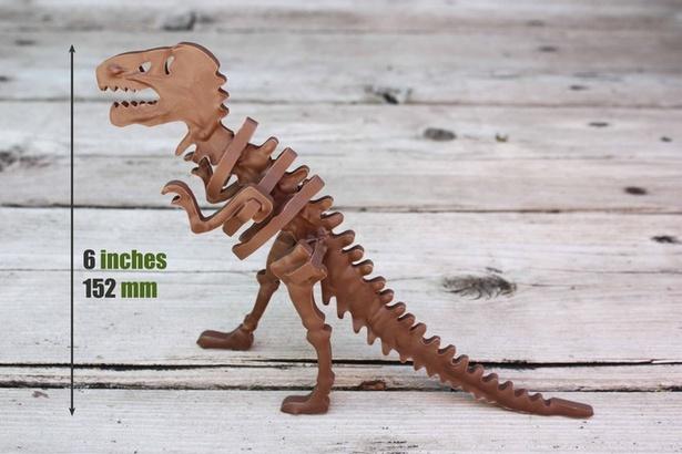 【写真を見る】完成度高めの「食べられる」ティラノサウルス標本