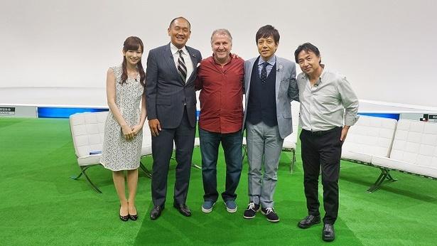 ジーコ氏が「FOOT×BRAIN」(テレビ東京系)に初出演する