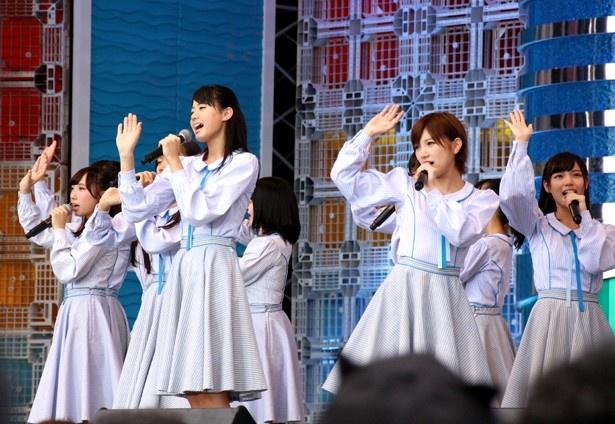 8月4日に「TOKYO IDOL FESTIVAL 2017」で関東初パフォーマンスを披露したSTU48