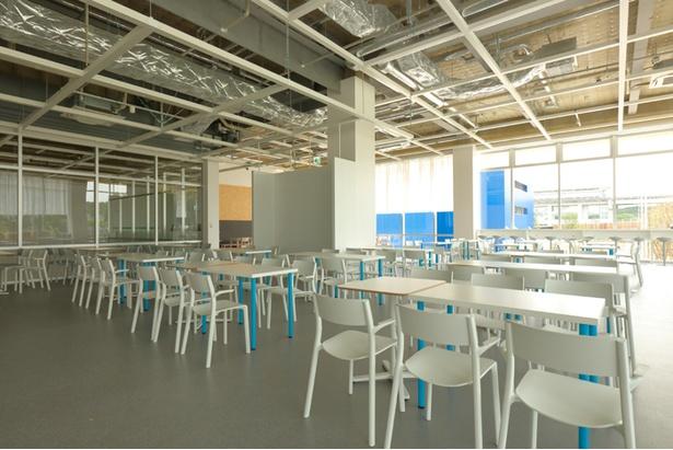 レストランの飲食スペース。「開放的で、気持ちよく食事を楽しめそう!」