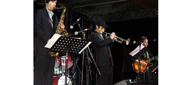 7曲のスペシャルライブを披露してくれた「Yuji Ohno & Lupintic Five」