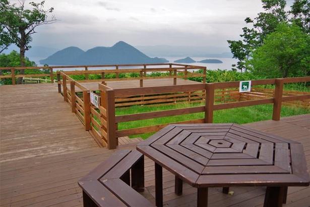 札幌から洞爺湖温泉や函館方面へのドライブで休憩するのにベストな「サイロ展望台」