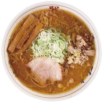 「ラーメンの駅」の『味噌ラーメン』(900円)は、生の味噌を焦がして作るスープが、風味とコクがたっぷりで人気/横浜