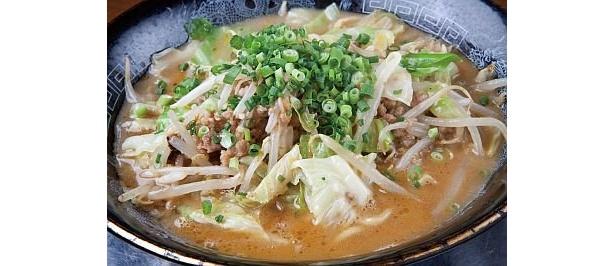 ベジポタの甘味と上品な白味噌が絶妙にマッチした「麺屋OK」の『コクうま味噌』(750円)/東海