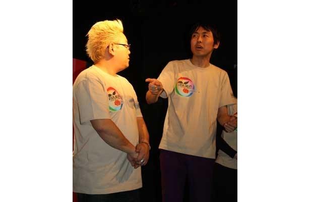 「実は、『今日泊まりに行く』っていうメールが鳥居さんから来た」と、スキャンダル(?)を暴露した田中さん