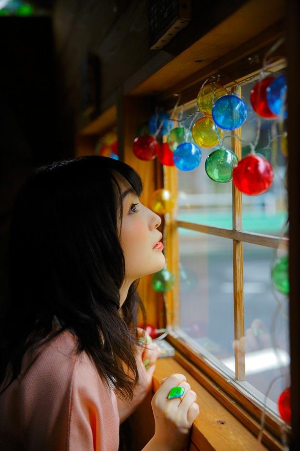 上田麗奈フォトコラム・色とりどりの、おとぎ話の世界で